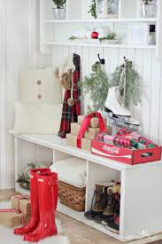 Homes Decorated For Christmas On The Inside Holiday Home Tour Grand Finale Craftberry Bush Unskinny Boppy