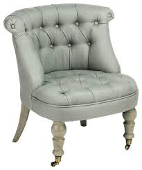 Slipper Chair Amelie Slipper Chair Traditional Armchairs And Accent Chairs