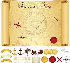 treasure map clipart treasure map clip vector images illustrations istock