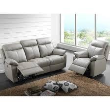 canapé électrique canapé 3p relax fauteuil électrique cuir vyctoire achat