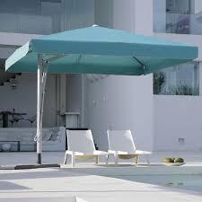 Square Patio Umbrellas Caravita Belvedere Square Offset Umbrella Homeinfatuation