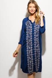 dark navy blue crochet lace trim bell sleeve cocktail party boho