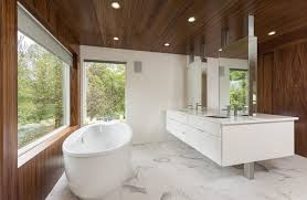 Kitchen And Bath Designers Boston Flat Coffered Ceiling Bathroom Modern With Wood Kitchen And