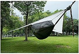naturehike 1 person hammock with bed net camping hanging tent