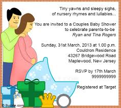 baby shower for couples couples baby shower invitation wording christmanista