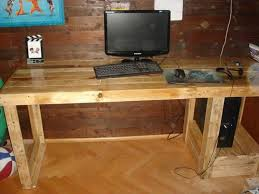 Computer Desk Wood Best Wood Computer Desks Contemporary Liltigertoo
