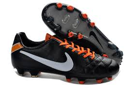 Nike Tiempo Legend Iv nike tiempo legend iv fg soccer cleats boots black orange white