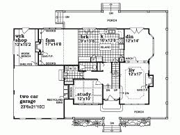 Farmhouse House Plans With Porches Farmhouse House Plan With 2462 Square Feet And 4 Bedrooms From