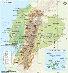 Accurate Map Of The World Ecuador Map Map Of Ecuador