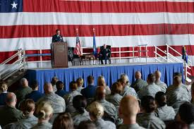 Flag Folding Ceremony Command Chief Retires After More Than 30 Years Of Service U003e Offutt