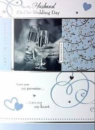 For My Husband On Our For My Husband On Our Wedding Day Beautiful Greeting Card With