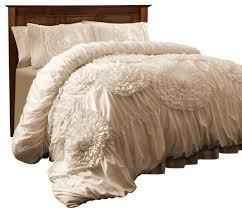 Lush Decor Belle Comforter Set Serena 3 Piece Comforter Set Comforters And Comforter Sets By