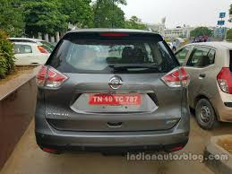 nissan hybrid 2016 nissan x trail hybrid spied in india inside and out