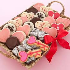 cookie basket delivery 49 best s day images on biscotti and