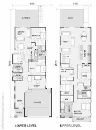 narrow lot house plan house plans for narrow lots with view home decor 2018