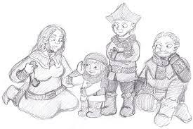 The Hobbit Kink Meme - ori nori dori and their mother wip by cheetana on deviantart