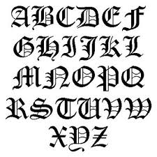 best 25 old style font ideas on pinterest old english font