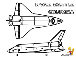 space shuttle coloring pages getcoloringpages com