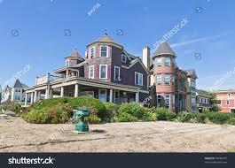 small beach house beach house ocean grove small beach stock photo 59482105