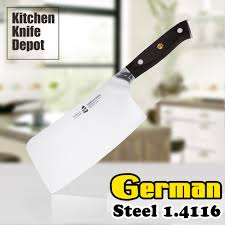 compare prices on high carbon knife steel online shopping buy low tuo vg10 6 5 inch cleaver knife high carbon german steel 1 4116 g10 handle chopping cutting chef
