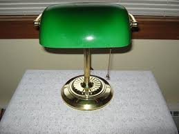 bankers green desk lamp u2014 all home ideas and decor antique green