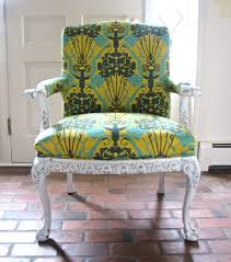 Yellow Chairs Upholstered Design Ideas Chairs Diy Upholstered Chairs With Green And Yellow Color Diy