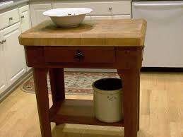 butcher block kitchen island rustic butcher block kitchen island furniture decor trend