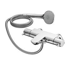 product details a5638 thermostatic two hole bath shower mixer