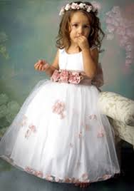 flower girl accessories use suitable accessories to match cheap flower girl dresses