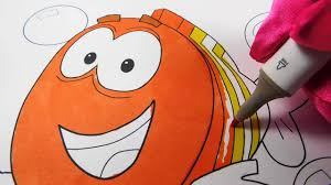 bubble guppies mr grouper coloring book page speed coloring
