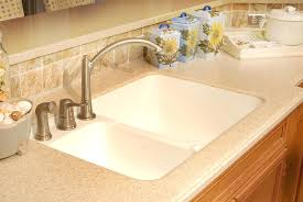 kitchen sink and counter integrated kitchen sink and countertop honed gold marble integrated
