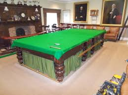 Tournament Choice Pool Table by Gentleman U0027s Club In Burton Re Cover Burroughs And Watts Snooker