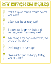 wonderful kitchen safety rules for students portrait best