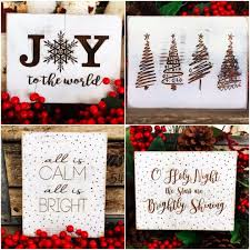 christmas signs get a rustic christmas sign for just 11 99 shipped money