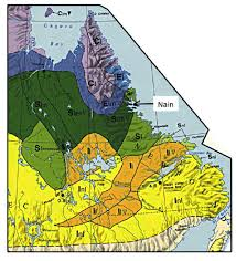 The Map Of Canada by Extract Of The Permafrost Map Of Canada Showing Permafrost