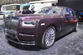 roll royce phantom 2017 2018 rolls royce phantom ewb front three quarters at 2017 dubai