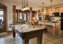 Kitchen Photos Dining Rooms Riverbend Galleries - Kitchen pool table