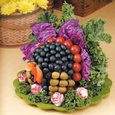 veggie turkey centerpiece recipe taste of home