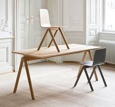Old Wooden Table And Chairs Table And Chair By Ronan And Erwan Bouroullec For Hay Interiorzine