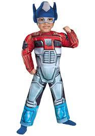 Dragon Ball Halloween Costumes Toddler Optimus Prime Rescue Bot Costume