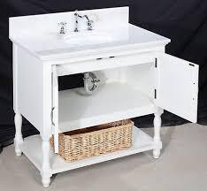 Vanity Sets Bathroom by Elegant 36 Inch Single Sink White Bathroom Vanity Sets