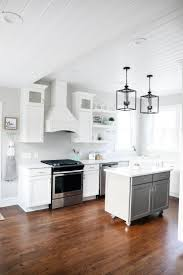 white and grey modern kitchen modern farmhouse kitchen i heart nap time