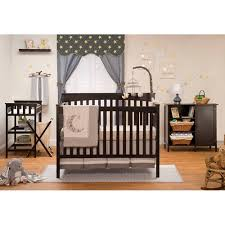 cribs with changing table and storage sorelle petite paradise elite 4 in 1 crib changing table and