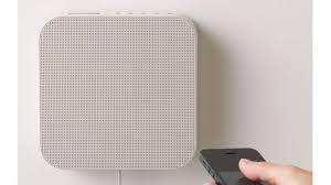 minimalist speakers muji s minimalist bluetooth speaker will disappear into your walls
