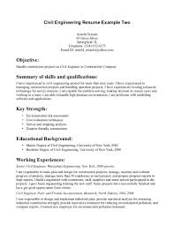 Sample Resume For Fresher Civil Engineer by Civil Engineer Resume Template Word Virtren Com