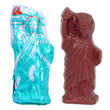 statue of liberty chocolate statues