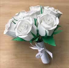 bouquet en papier high quality paper roses le papier roses 601 498 9343