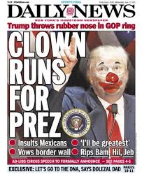 clowns ny june 17 2015 clown runs for prez photos new york daily