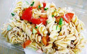 how to make cold tuna pasta salad quick and easy food youtube