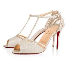 authentic high quality womens christian louboutin patitta glitter